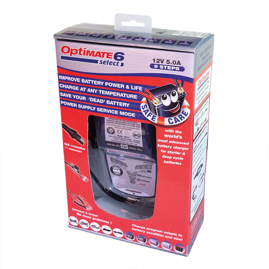Зарядное устройство OptiMate 6 Select TM190