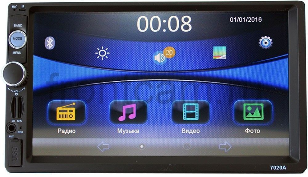 Штатная магнитола LeTrun 1743 для Nissan (Universal) Windows CE 6