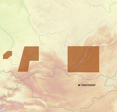 Карта C-MAP RS-N217 - Озеро Байкал и Сибирские озера