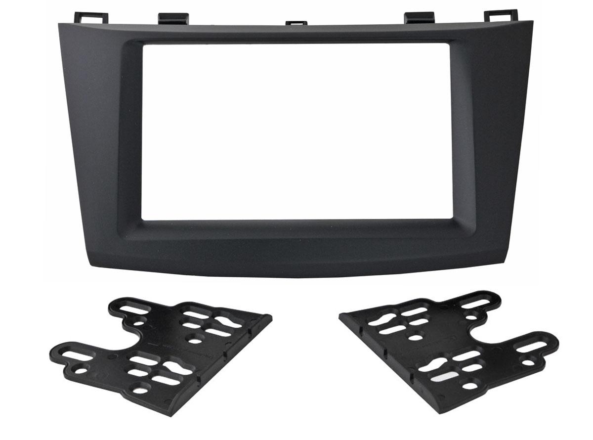 Переходная рамка Intro RMZ-N12 для Mazda 3 09-14 2DIN (крепеж) переходная рамка intro 99 9011 для volkswagen skoda fabia 2din