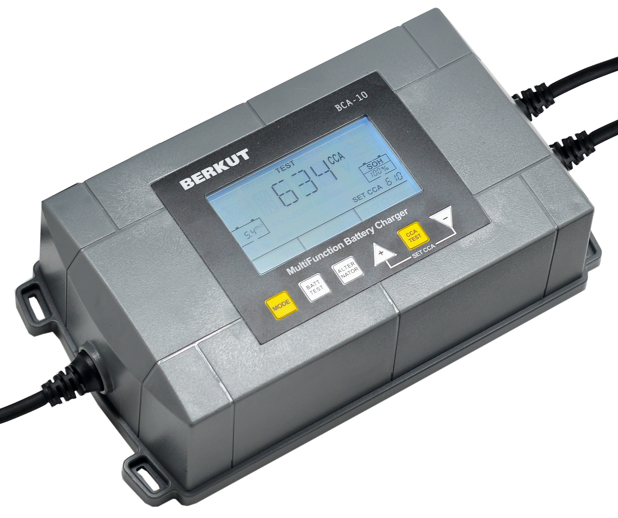 Автоматическое зарядное устройство с диагностикой АКБ BERKUT BCA-10 (+ Power Bank в подарок!)