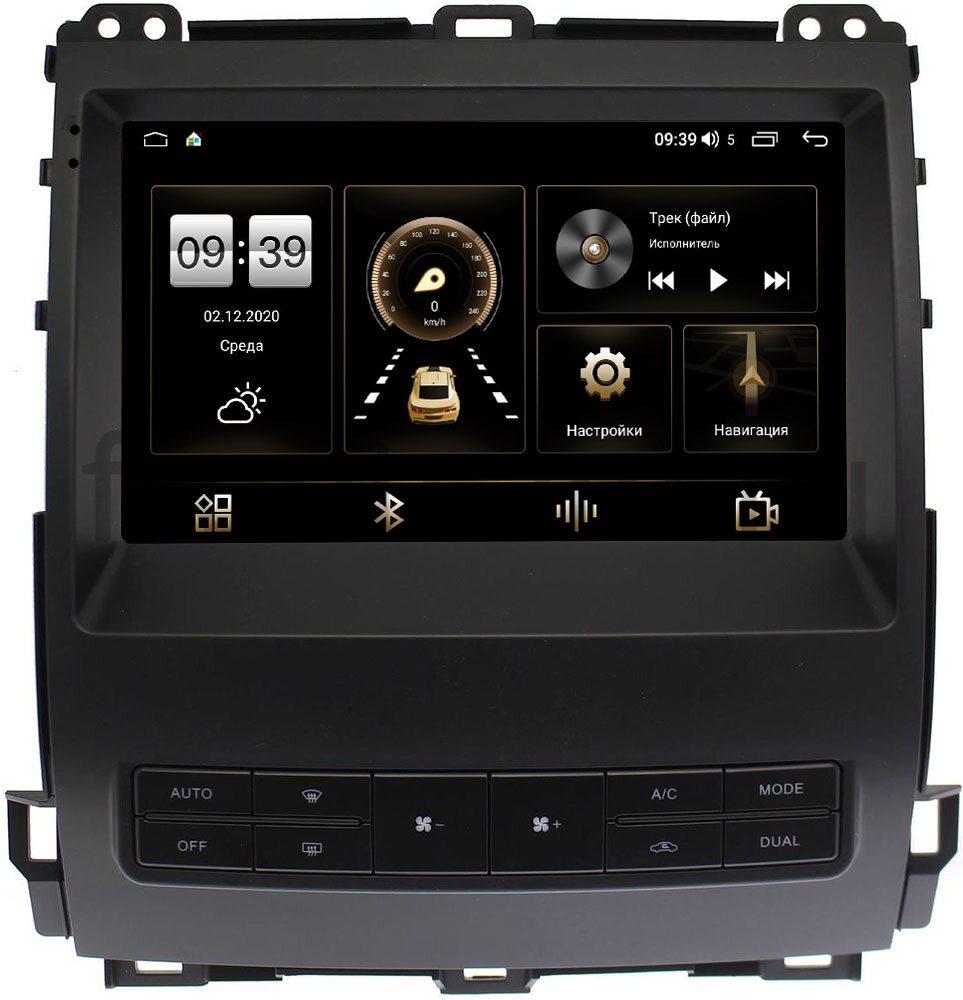 Штатная магнитола LeTrun 4166-9-MFBLGX470 для Toyota LC Prado 120 2002-2009 на Android 10 (4G-SIM, 3/32, DSP, QLed) (+ Камера заднего вида в подарок!)