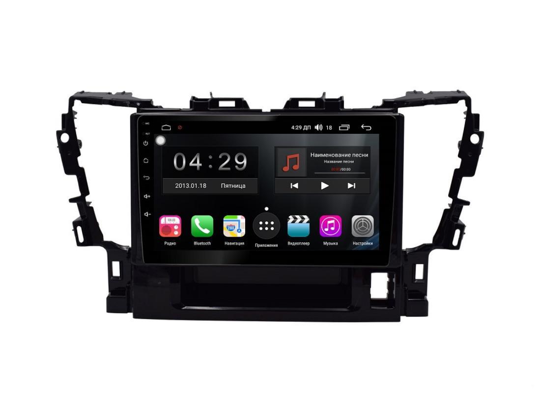 Штатная магнитола FarCar s300 для Toyota Alphard на Android (RL564R) (+ Камера заднего вида в подарок!)