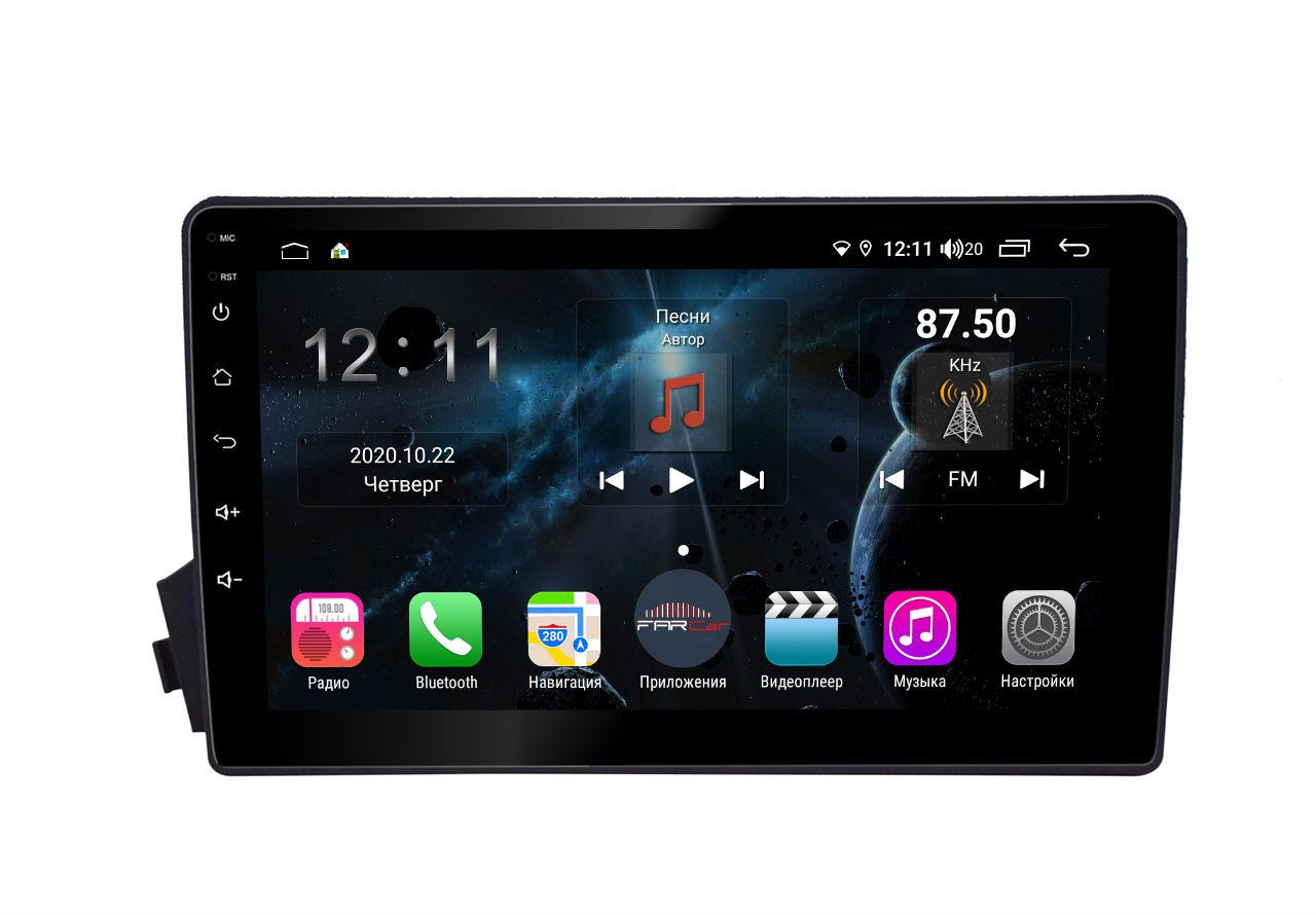 Штатная магнитола FarCar s400 для Ssang Yong Kyron на Android (TG158R) (+ Камера заднего вида в подарок!)