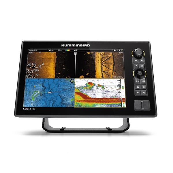 Эхолот Humminbird SOLIX 10 CHIRP MEGA SI GPS