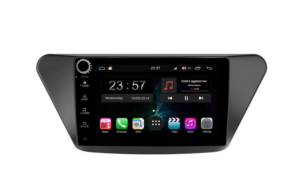 Штатная магнитола FarCar s300-SIM 4G для Lifan X50 2012+ на Android (RG561RB) (+ Камера заднего вида в подарок!)