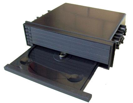 Переходная рамка-карман Intro RUN-N02 для Toyota, Nissan, Subaru Mitsubishi 1DIN 6disc