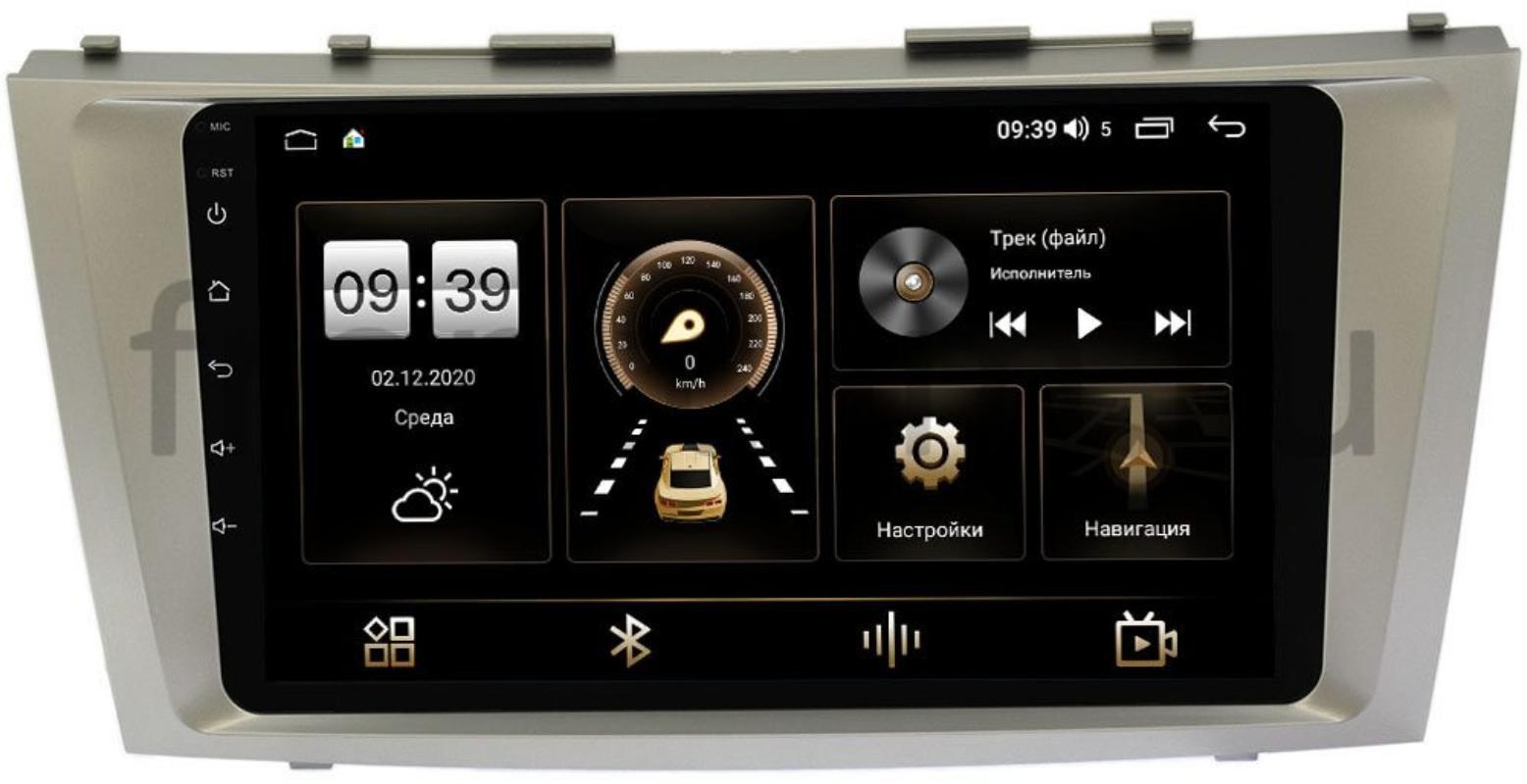 Штатная магнитола Toyota Camry V40 2006-2011 LeTrun 4196-9037 на Android 10 (6/128, DSP, QLed) С оптическим выходом (+ Камера заднего вида в подарок!)