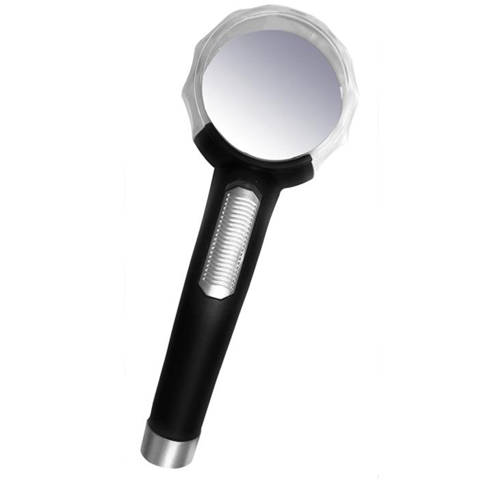 Картинка для Лупа Kromatech ручная контактная 10x, 65 мм, с подсветкой (1 LED) TH-8015