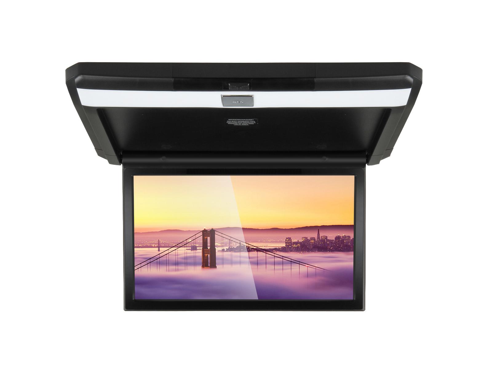 Фото - Автомобильный потолочный монитор 13.3 с медиаплеером FarCar-Z004 (черный) (+ Салфетки из микрофибры в подарок) монитор