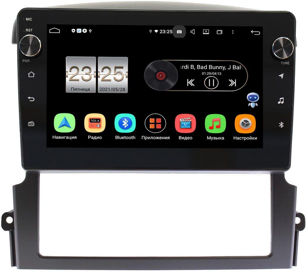 Штатная магнитола Kia Sorento (2006-2009) LeTrun BPX409-9337 на Android 10 (4/32, DSP, IPS, с голосовым ассистентом, с крутилками) (+ Камера заднего вида в подарок!)