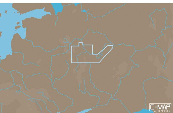 Карта C-MAP RS-N220 - Москва канал и река Ока