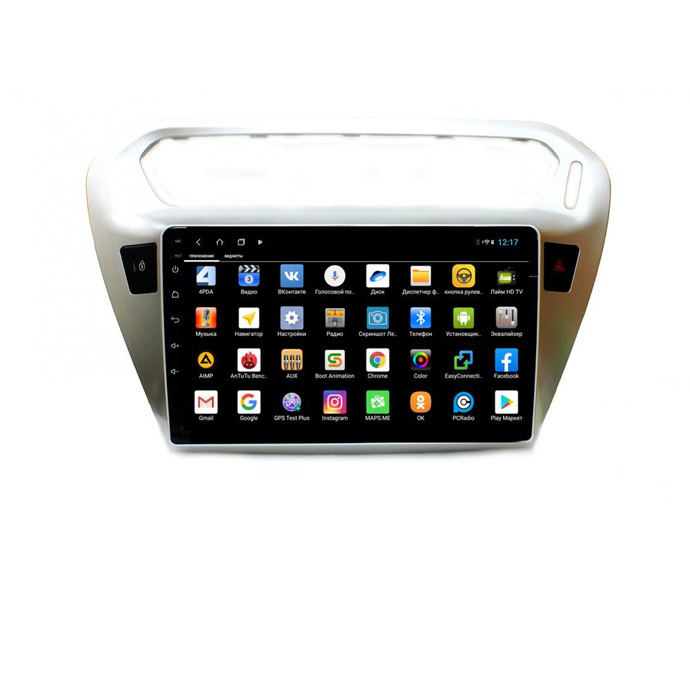 Штатная магнитола Parafar для Peugeot 301 Android 8.1.0 (PF991XHD) (+ Камера заднего вида в подарок!)