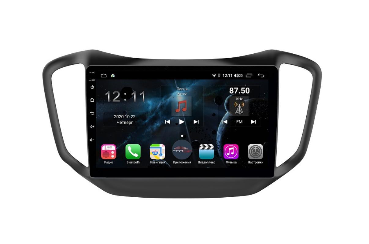Штатная магнитола FarCar s400 для Chery Tiggo 5 на Android (H1036R) (+ Камера заднего вида в подарок!)