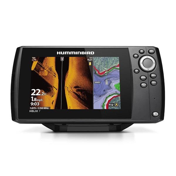 Эхолот HUMMINBIRD HELIX 7X MEGA SI GPS G3 (+ Леска в подарок!)