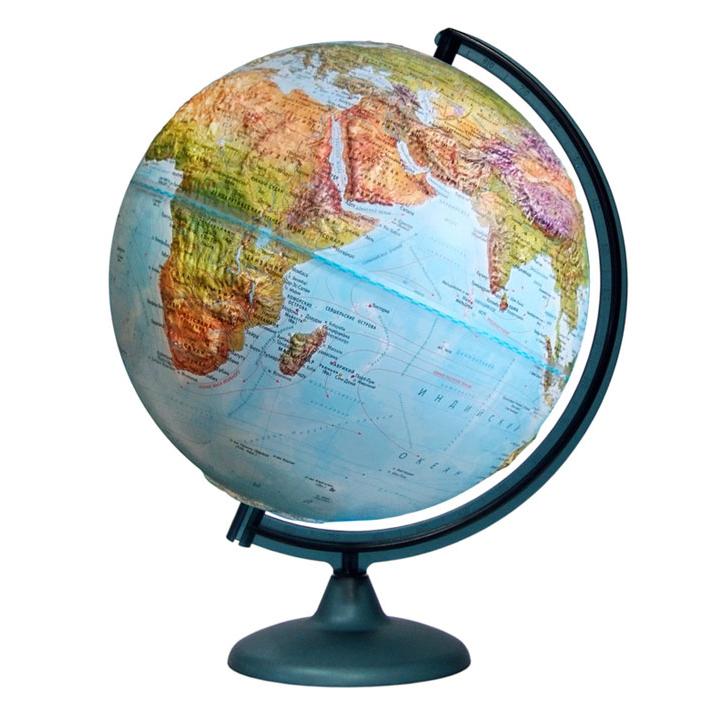 Фото - Глобус «Двойная карта» рельефный диаметром 320 мм, с подсветкой кружка пивная printio манчестер юнайтед