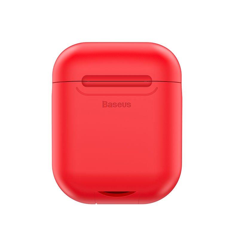 Беспроводное зарядное Baseus wireless charger for Airpods Red
