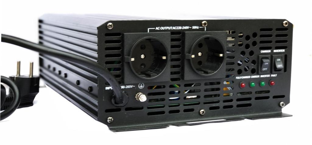 Преобразователь напряжения с ИБП и ЗУ AcmePower AP-UPS2000/12