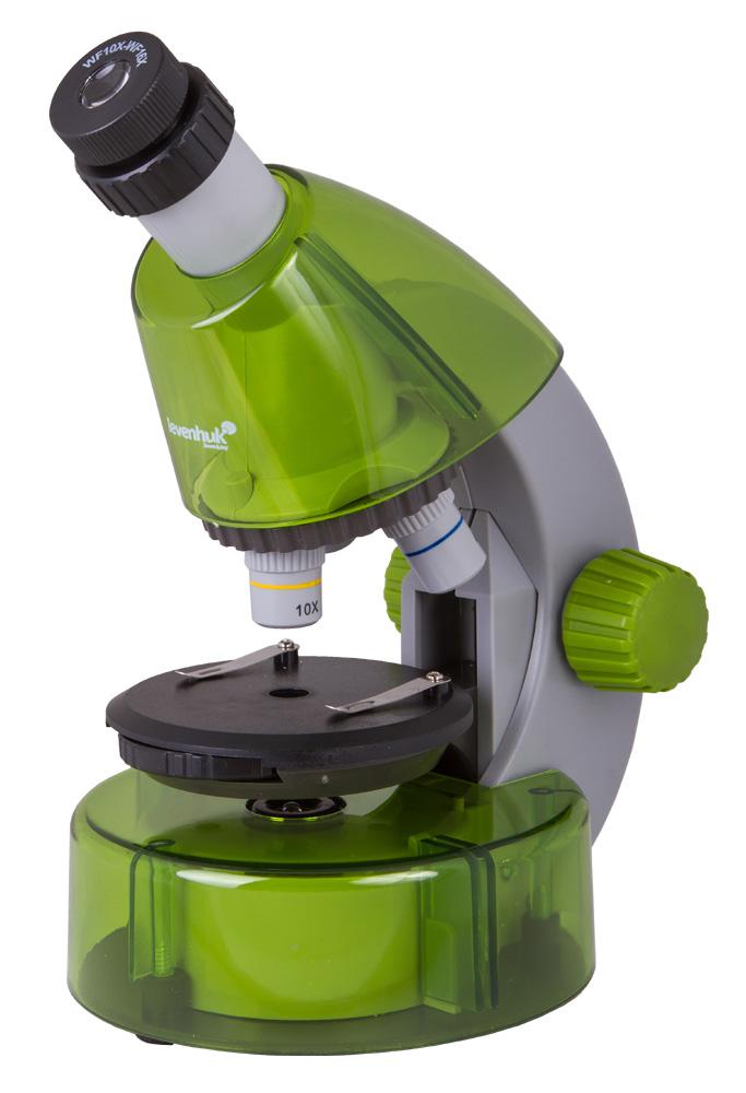 Фото - Микроскоп Levenhuk LabZZ M101 Lime\Лайм (+ Салфетки из микрофибры в подарок) микроскоп levenhuk labzz m3