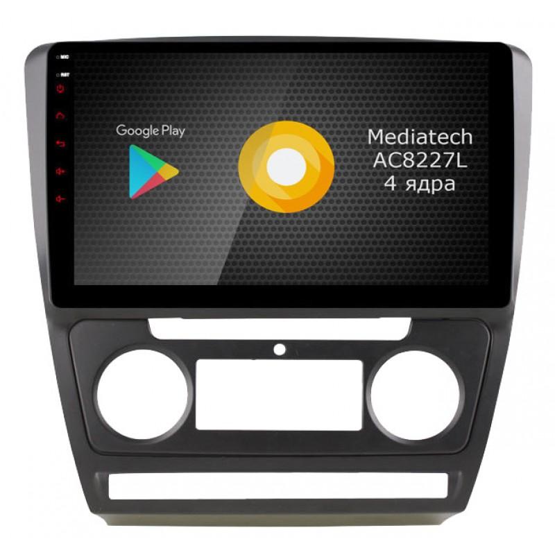 Фото - Автомагнитола Roximo S10 RS-3202S (серебро) для Skoda Octavia A5 (+ Камера заднего вида в подарок!) видео