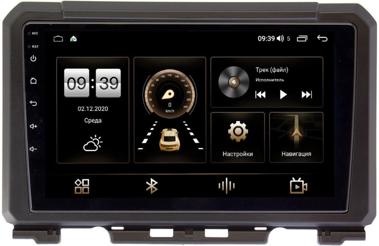 Штатная магнитола Suzuki Jimny IV 2018-2020 LeTrun 4196-9216 на Android 10 (6/128, DSP, QLed) С оптическим выходом (+ Камера заднего вида в подарок!)