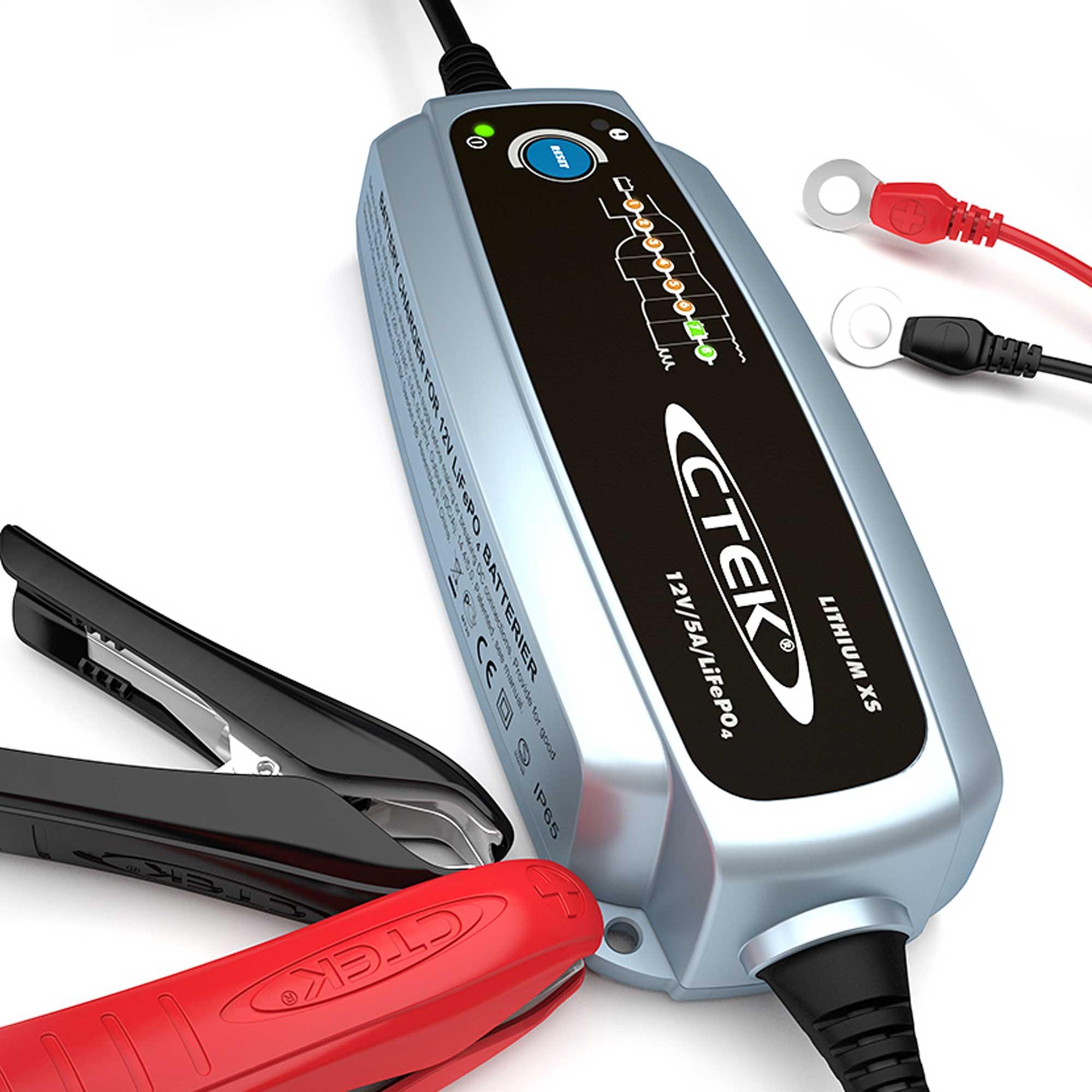Зарядное устройство Ctek LITHIUM XS (+ Антисептик-спрей для рук в подарок!) зарядное