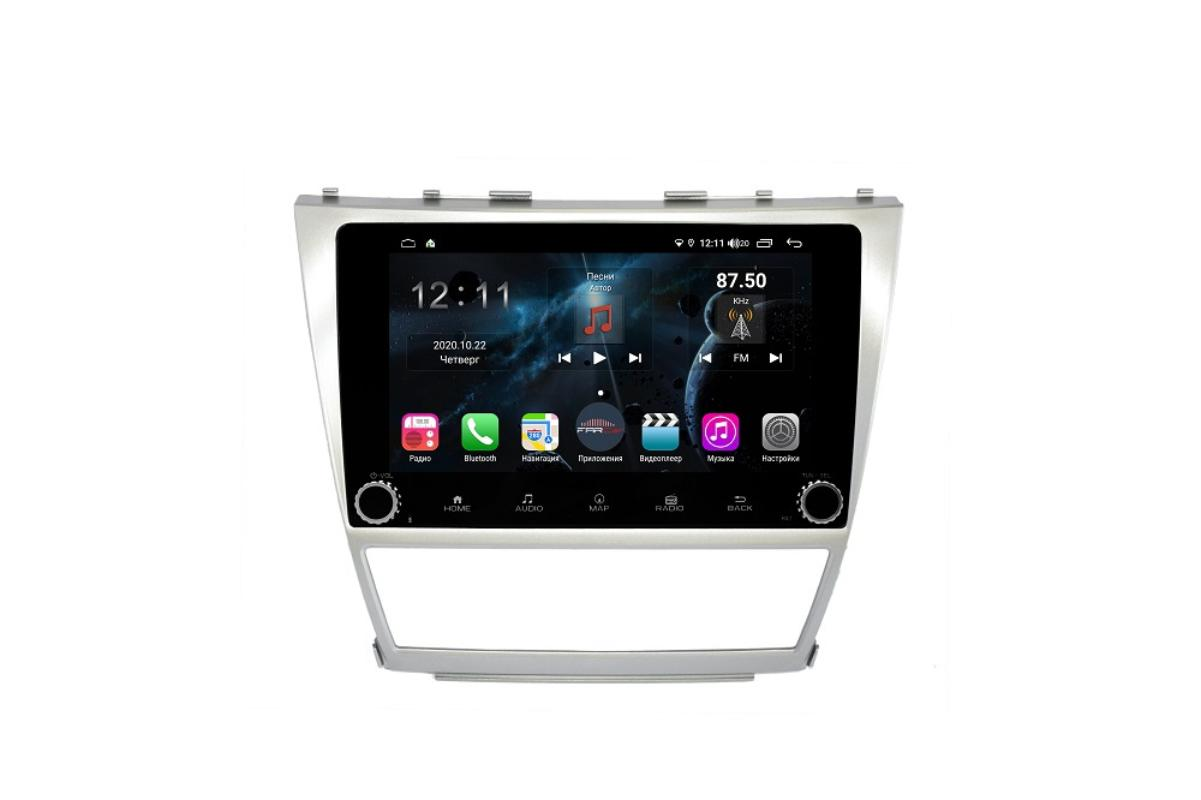 Штатная магнитола FarCar s400 для Toyota Camry на Android (H064RB) (+ Камера заднего вида в подарок!)