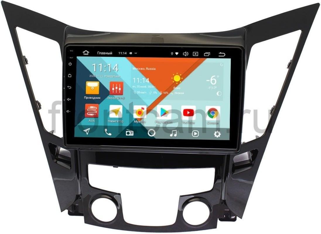 Штатная магнитола Hyundai Sonata VI (YF) Wide Media KS9114QR-3/32 DSP CarPlay 4G-SIM Android 10 (+ Камера заднего вида в подарок!)