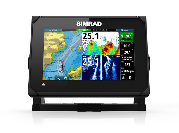 Simrad GO7, ROW XSE TotalScan (+ Аккумулятор + З/У + Струбцина)