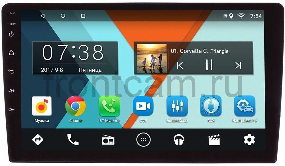 Штатная магнитола 2 DIN Wide Media MT-MFB (2/16) на Android 7.1.1 (9 дюймов) (+ Камера заднего вида в подарок!)