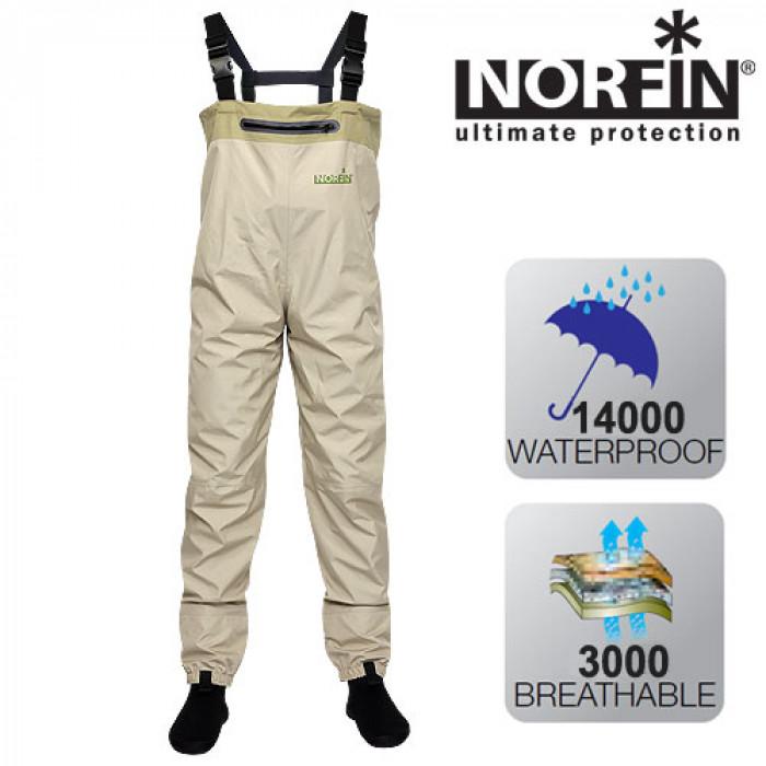 Полукомбинезон забродный Norfin WHITEWATER р.M norfin luiro m nfl