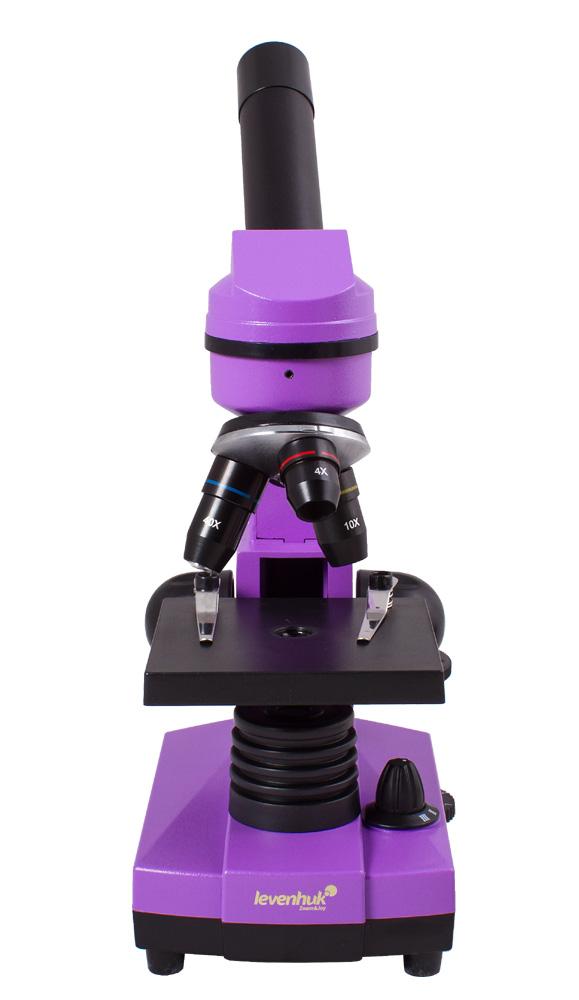 лучшая цена Микроскоп Levenhuk Rainbow 2L Amethyst\Аметист