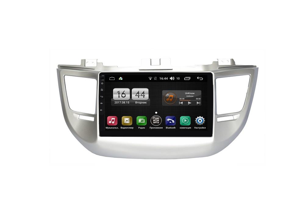 Штатная магнитола FarCar s185 для Hyundai TUCSON / IX35 2015 на Android (LY546R) (+ Камера заднего вида в подарок!)