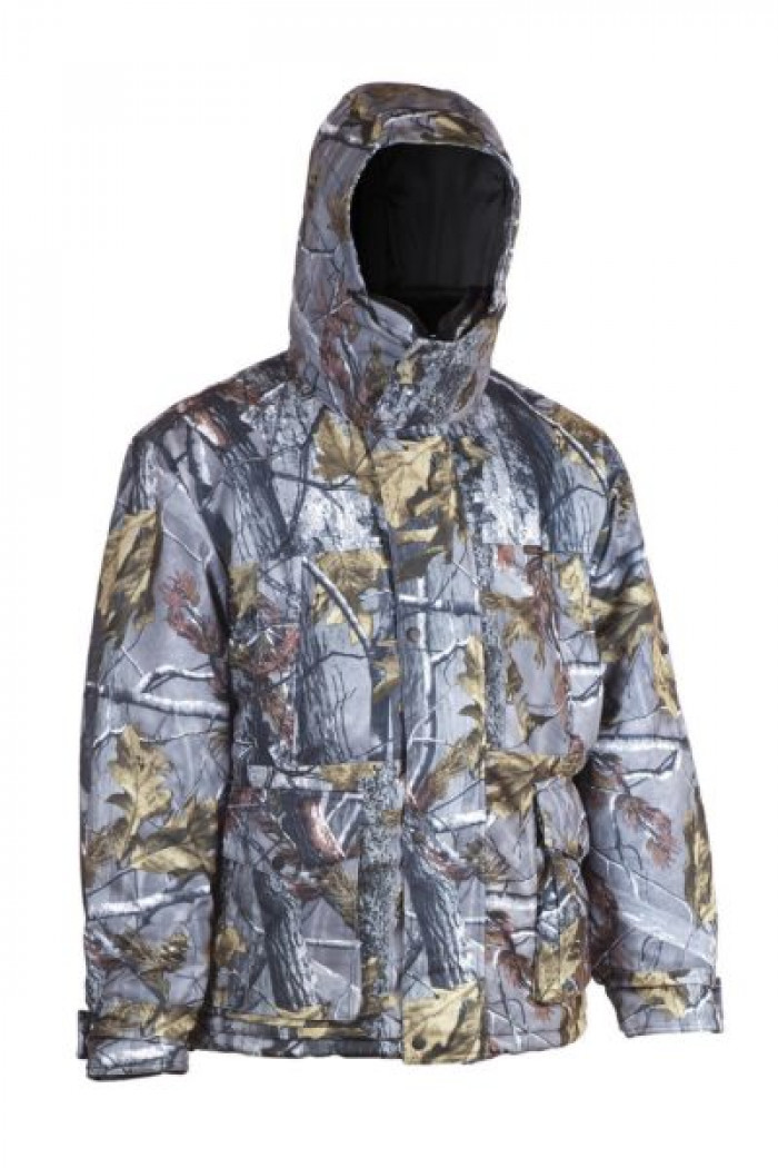 Костюм зимний ПАМИР алова мембр. Серый лес со снегозащитными гетрами (48-50)