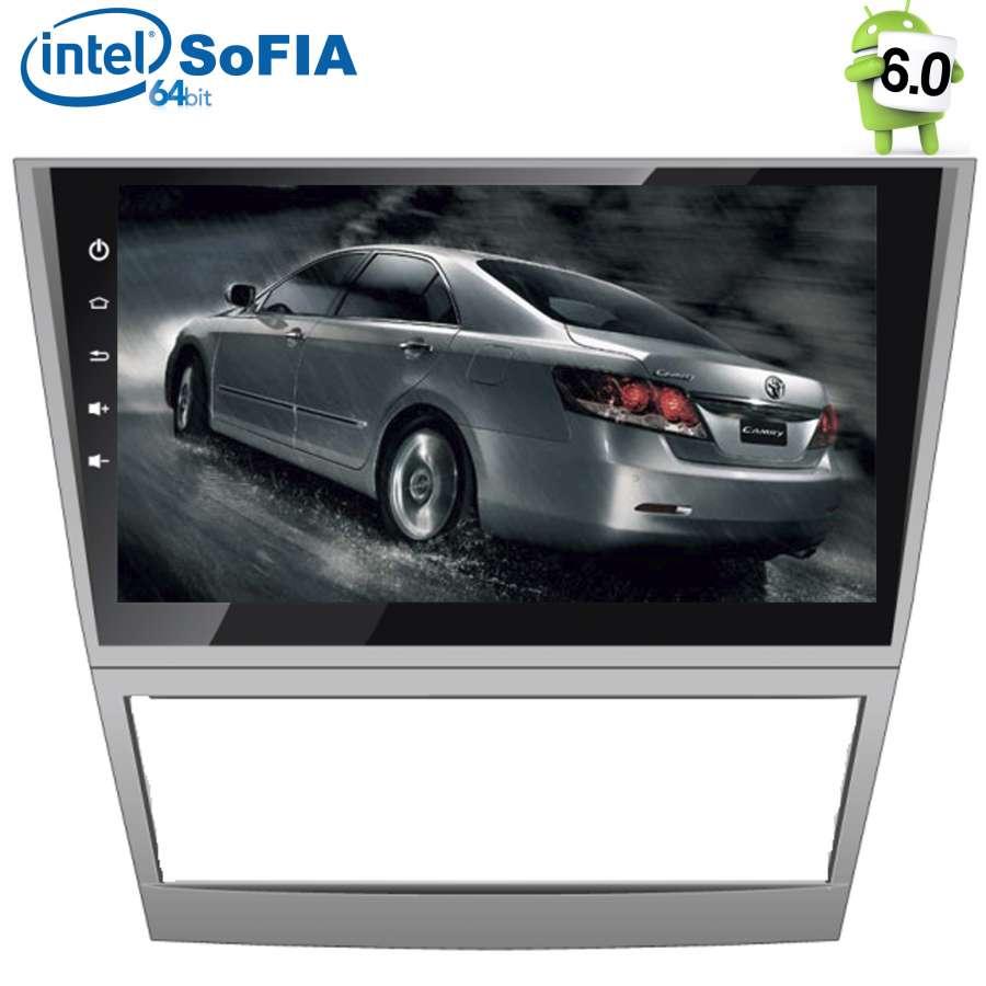 Штатная магнитола для Toyota Camry V40 2006-2011 LeTrun 2032 Android 6.0.1 Intel SoFIA