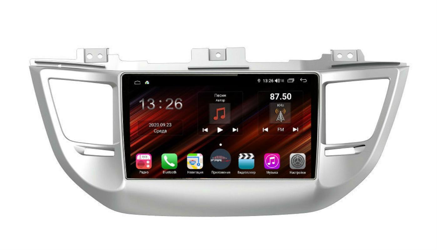 Штатная магнитола FarCar s400 Super HD для Hyundai Tucson на Android (XH546R) (+ Камера заднего вида в подарок!)
