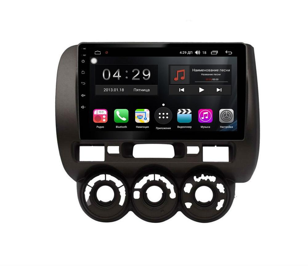 Штатная магнитола FarCar s300-SIM 4G для Honda Fit на Android (RG1233R) (+ Камера заднего вида в подарок!)