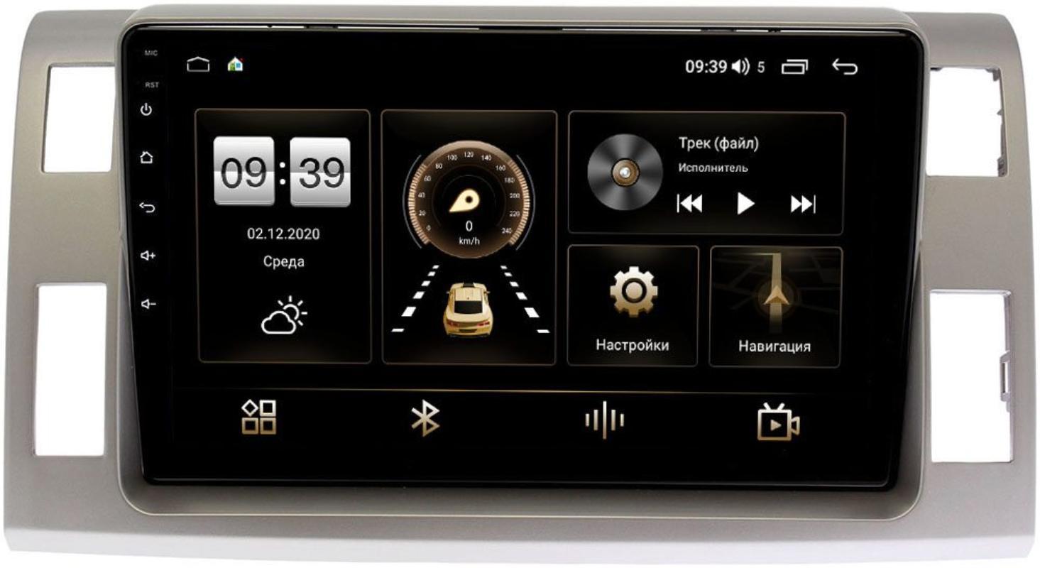 Штатная магнитола LeTrun 4195-10-1129 для Toyota Estima III 2006-2021 на Android 10 (6/128, DSP, QLed) С оптическим выходом (+ Камера заднего вида в подарок!)