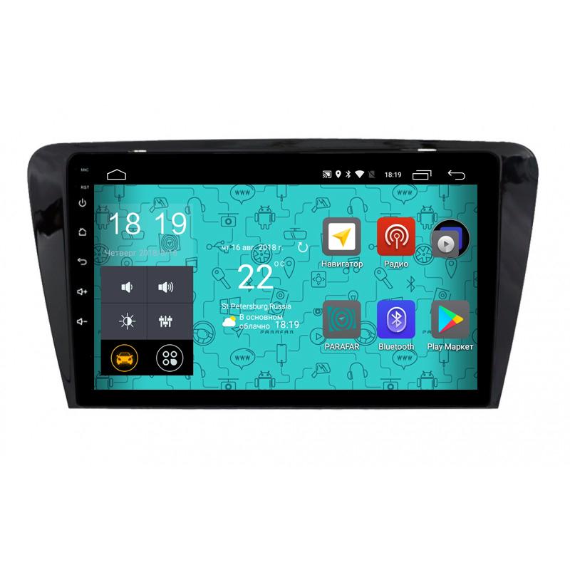 Штатная магнитола Parafar 4G/LTE с IPS матрицей для Skoda Octavia 3, A7 на Android 7.1.1 (PF993) lot of 10pcs unlocked aircard ac790s 4g mobile hotspot sierra wireless lte cat6 300m portable wifi router plus 49dbi 4g antenna
