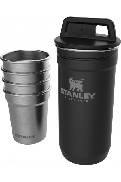 Черный набор стопок STANLEY Adventure 0,59L 10-01705-036