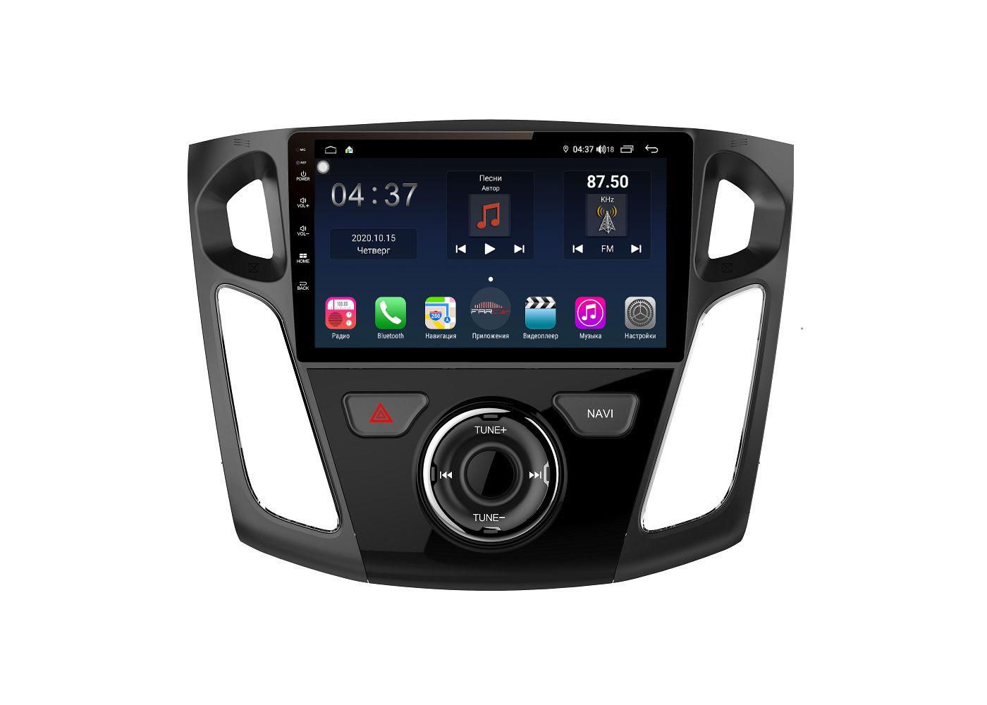 Штатная магнитола FarCar s400 для Ford Focus 3 на Android (TG150/501R) (+ Камера заднего вида в подарок!)
