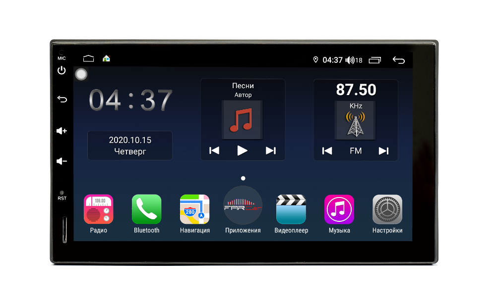 Штатная магнитола FarCar s400 Universal на Android (TG829) (+ Камера заднего вида в подарок!)