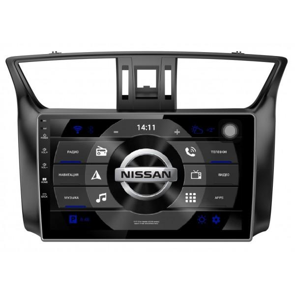 """Головное устройство Subini NIS104Y с экраном 10.2"""" для Nissan Sentra 2012+ (+ Камера заднего вида в подарок!)"""