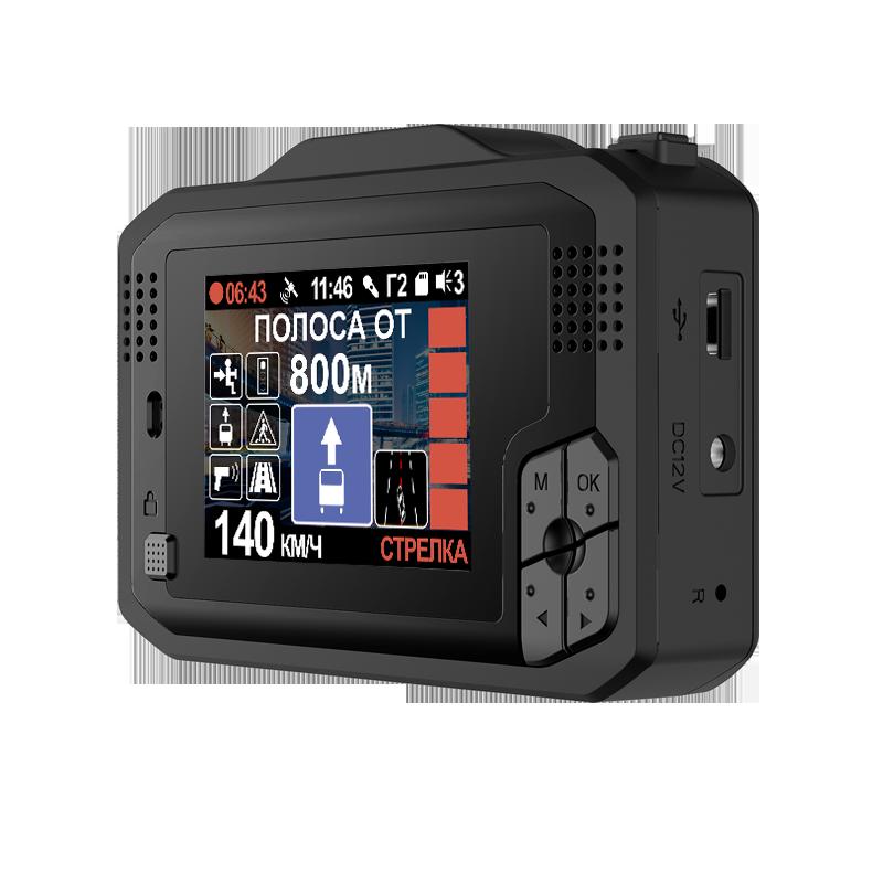 Видеорегистратор с радар-детектором и GPS модулем INTEGO VX-1000S (+ Антисептик-спрей для рук в подарок!)