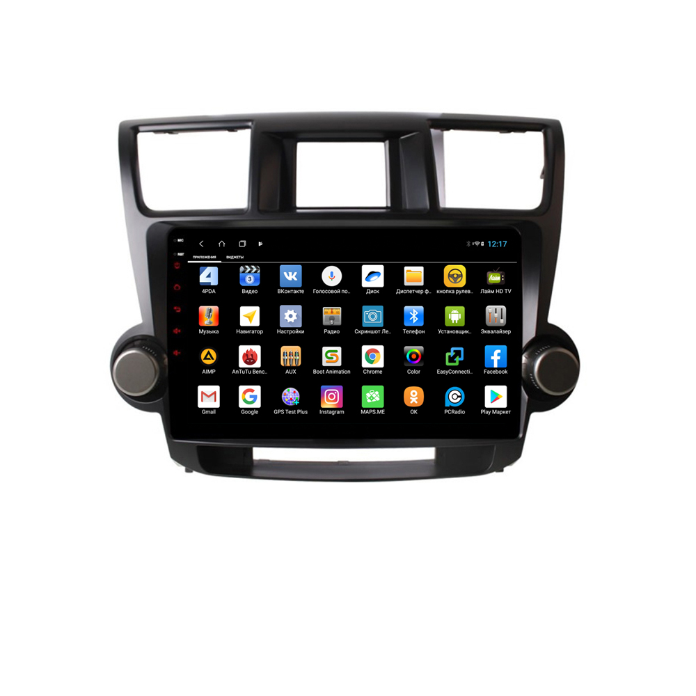 Фото - Штатная магнитола Parafar для Toyota Highlander 2007-2012 Android 8.1.0 (PF035XHD) (+ Камера заднего вида в подарок!) штатная магнитола parafar для toyota lc100 1998 2003 android 8 1 0 pf450xhd камера заднего вида в подарок