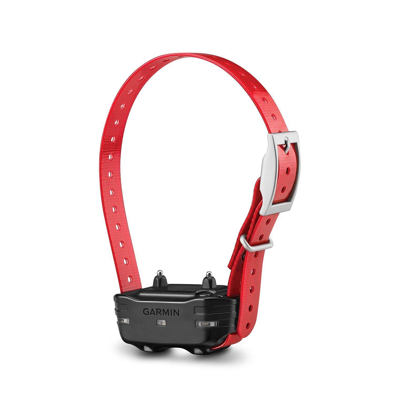 Ошейник для собак Garmin PT10 красный (+ Автомобильные коврики для впитывания влаги в подарок!)