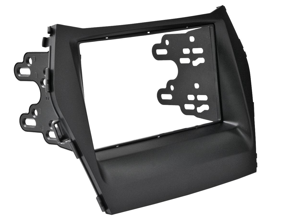 Переходная рамка Intro RHY-N41A для Hyundai Santa Fe 2DIN модуль дистанционного управления стеклоподъемниками оконный доводчик для hyundai grand santa fe 2012 2018