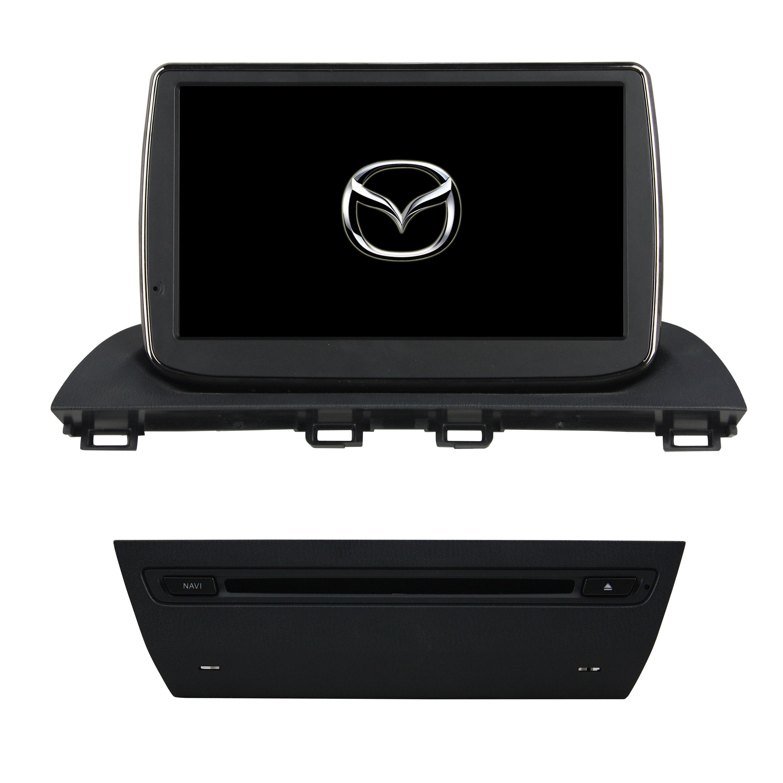 Штатная магнитола CARMEDIA KDO-9102 DVD Mazda3 10.2013+