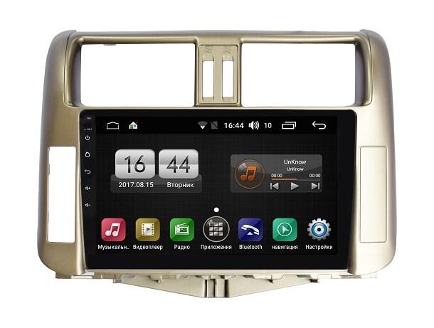 цена на Штатная магнитола FarCar s195 для Toyota Land Cruiser Prado 150 2009-2013 на Android (LX065R) (+ Камера заднего вида в подарок!)