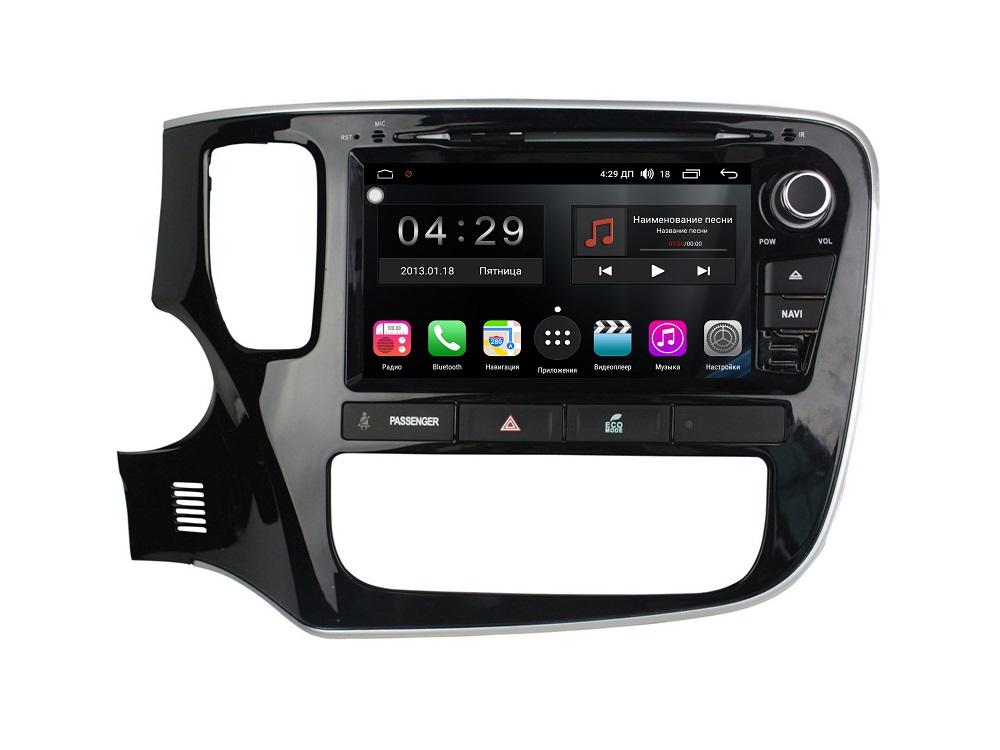 Штатная магнитола FarCar s300-SIM 4G для Mitsubishi Outlander 2012+ на Android (RG1006) (+ Камера заднего вида в подарок!)